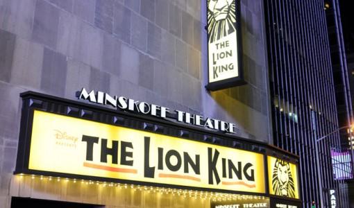 Lion King at Minskoff Theatre