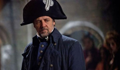 Russell Crowe in Les Miserables