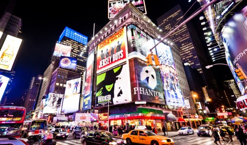 Broadway Ads Times Square